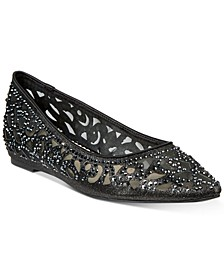Tonina Pointed-Toe Flats, Created for Macy's