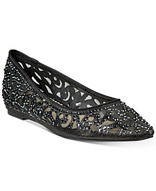 Charter Club Tonina Pointed-Toe Flats, Created for Macy's