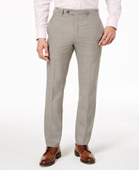 Lauren Ralph Lauren Men's Classic-Fit Ultraflex Stretch Dress Pants (Light Grey/Stone/Blue)