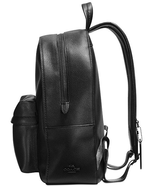 a6ce74fc5298b COACH Campus Backpack in Polished Pebble Leather   Reviews ...