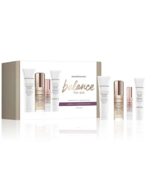 Bareminerals 4-Pc. Balance-To-Go Skincare Starter Set in Cleanser/Serum/Cream