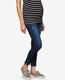 Motherhood Maternity Distressed Skinny Jeans
