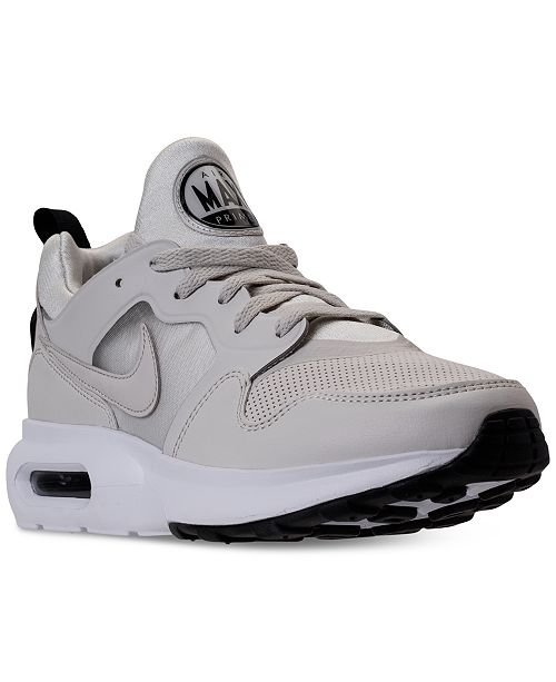 huge selection of f51d3 bab92 Nike Men s Air Max Prime SL Running Sneakers from Finish ...