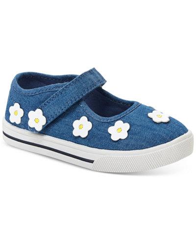 Carter's Izzy Denim Shoes, Toddler & Little Girls (4.5-3)