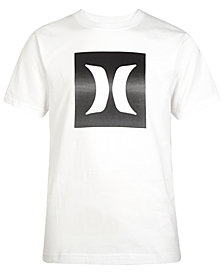 Hurley Logo-Print Cotton T-Shirt, Little Boys