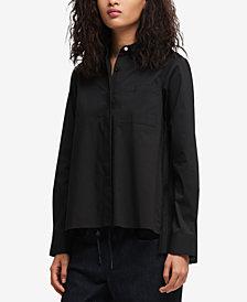 DKNY Pleated-Back Shirt, Created for Macy's