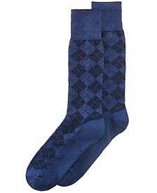 Men's Socks, Diamond Single Pack