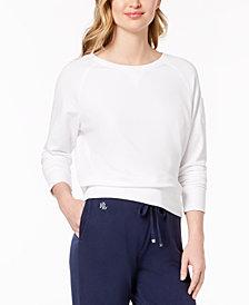 Lauren Ralph Lauren Crew-Neck Pajama Top