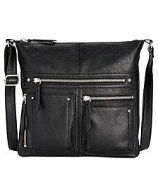 INC Riverton Messenger Crossbody, Created for Macy's