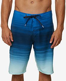 "O'Neill Men's Stretch Ombré Stripe 21"" Board Shorts"