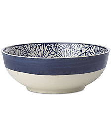 Lenox Market Place Indigo Serving Bowl