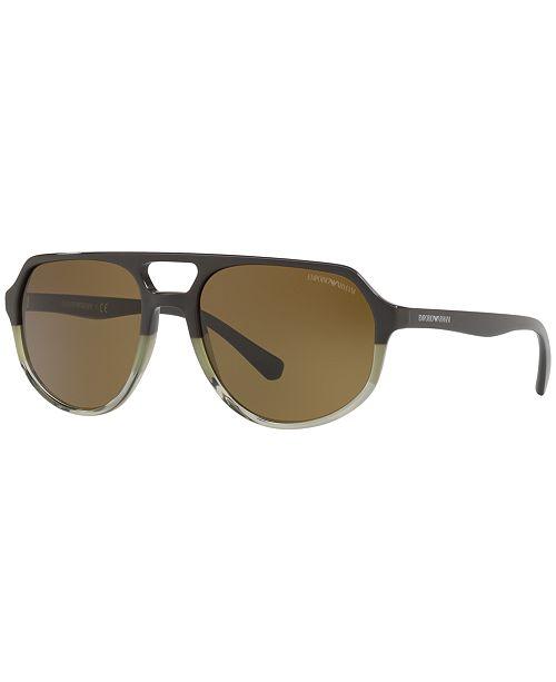 7f1d83384ff7 Emporio Armani Sunglasses, EA4111; Emporio Armani Sunglasses, EA4111 ...