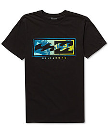 Billabong Men's Inverse Logo-Print T-Shirt