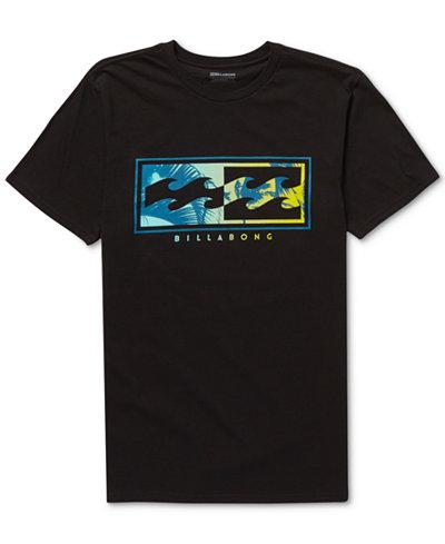 Billabong Men's Inverse Logo-Print T-Shirt