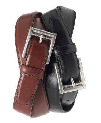 로렌 랄프로렌 Lauren Ralph Lauren Lauren by Ralph Lauren Roller Buckle Belt,Brown