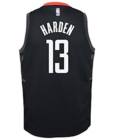 James Harden Houston Rockets Statement Swingman Jersey, Big Boys (8-20)