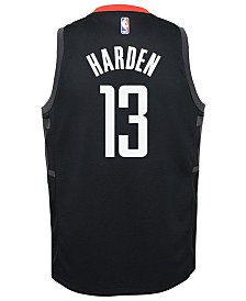 Nike James Harden Houston Rockets Statement Swingman Jersey, Big Boys (8-20)