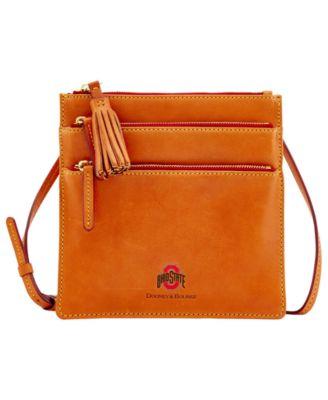 Ohio State Buckeyes Florentine Triple Zip Crossbody Bag