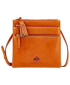 Dooney & Bourke Ohio State Buckeyes Florentine Triple Zip Crossbody Bag