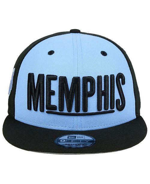 New Era Memphis Grizzlies City Series 9FIFTY Snapback Cap - Sports ... 6a47b782b94