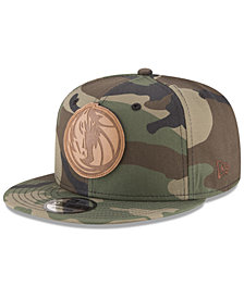 New Era Dallas Mavericks Camo 9FIFTY Snapback Cap