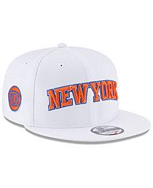 New Era New York Knicks Statement Jersey Hook 9FIFTY Snapback Cap