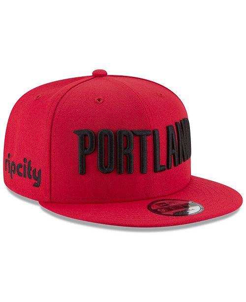 lowest price 92506 0eefd ... closeout new era portland trail blazers statement jersey hook 9fifty  snapback cap 3a0c4 22980