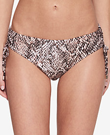 Calvin Klein Nectar Chameleon Printed Side-Tie Bikini Bottoms