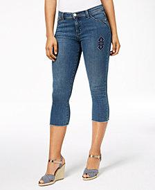 Lee Platinum Kyla Frayed Capri Jeans