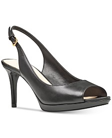 Nine West Black/Black Fabric Cinemaq OVA482102