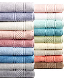 Martha Stewart Collection 100% Cotton Spa Bath Towel Collection, Created for Macy's