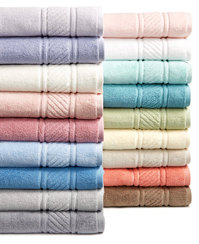 Martha Stewart Collection 100 Cotton Spa Bath Towel Collection Created For Macy 39 S Bath