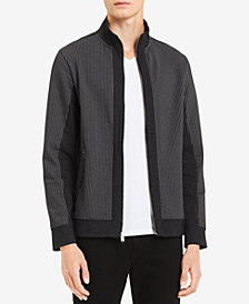 Calvin Klein Men's Colorblocked Full-Zip Cardigan