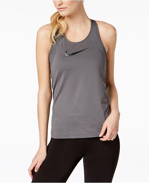 b19bd0e3 Nike Pro Mesh Dri-FIT Tank Top & Reviews - Tops - Women - Macy's