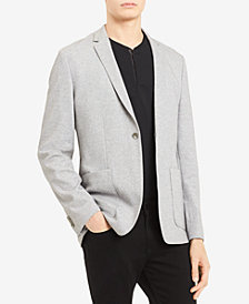 Calvin Klein Men's Classic-Fit Stretch Piqué Sport Coat