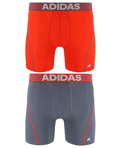 adidas Men's 2-Pk. Sport Performance ClimaCool® Boxer Briefs