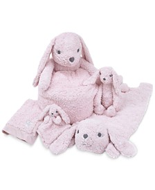 Cuddle Me Luxury Plush Pink Bunny Baby Bedding Collection