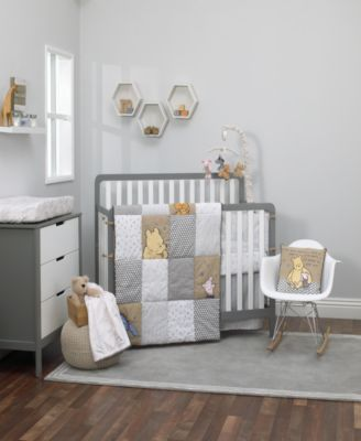 """A Day With Pooh"" 3-Pc. Crib Set"