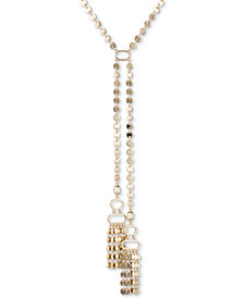 Ivanka Trump Gold-Tone Disc Link Lariat Necklace