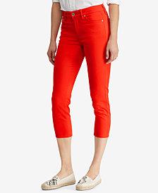 Lauren Ralph Lauren Premier Skinny Crop Curvy Jeans