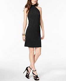 MICHAEL Michael Kors Printed Mock-Neck Dress