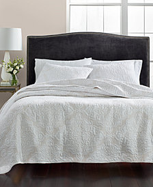 Martha Stewart Collection Gilded Age 100% Cotton Twin Quilt, Created for Macy's