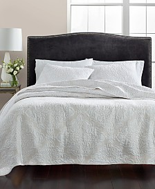 CLOSEOUT! Martha Stewart Collection Gilded Age 100% Cotton Quilt and Sham Collection, Created for Macy's