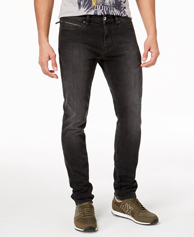 Armani Exchange Men's Tapered Fit Stretch Jeans