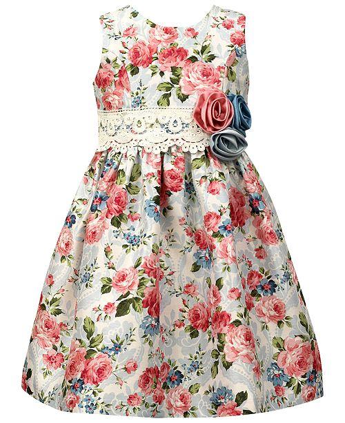 ff7c08364cc Jayne Copeland Floral-Print Shantung Dress