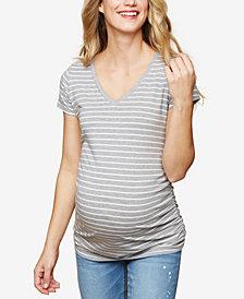 Motherhood Maternity Ruched Jersey T-Shirt