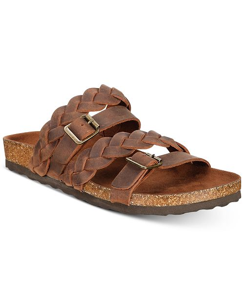 b34f87b9fe30 White Mountain Holland Braided Footbed Slip-on Sandals   Reviews ...