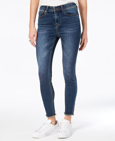 American Rag Juniors' Raw-Hem Jeggings, Created for Macy's