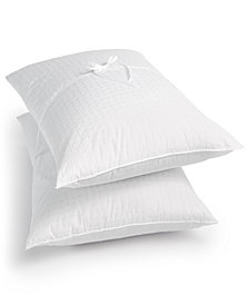 CLOSEOUT! Tommy Hilfiger Abstract Monogram King 2-Pack Pillows