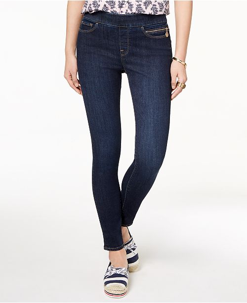 8847b64d Tommy Hilfiger Gramercy Pull-On Skinny Jeans & Reviews - Jeans ...